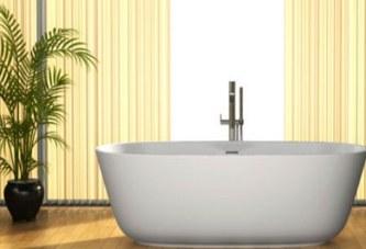 Разполагане на растенията в банята