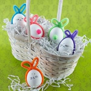 зайчета от яйца