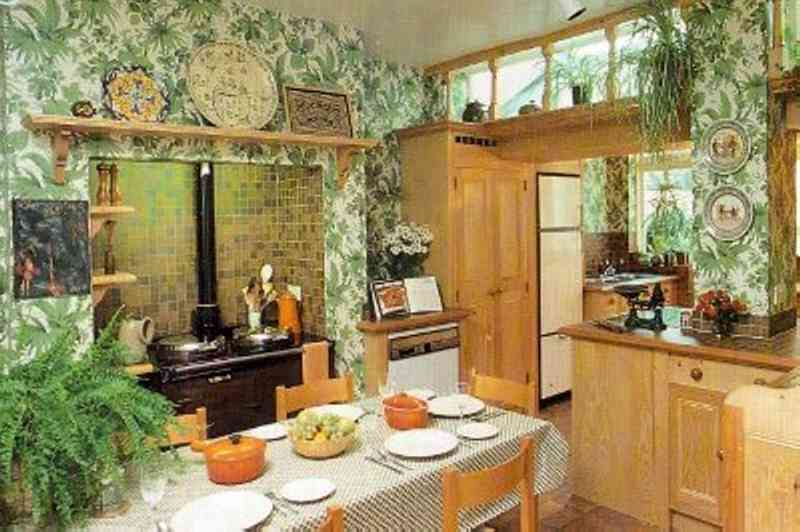 Разполагане на растенията в кухнята