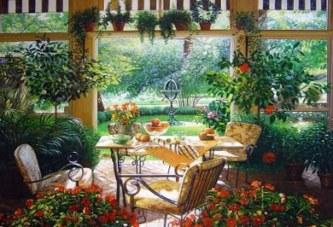 Вътрешна градина
