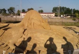 Фестивал на Пясъчните скулптури – Бургас 2015
