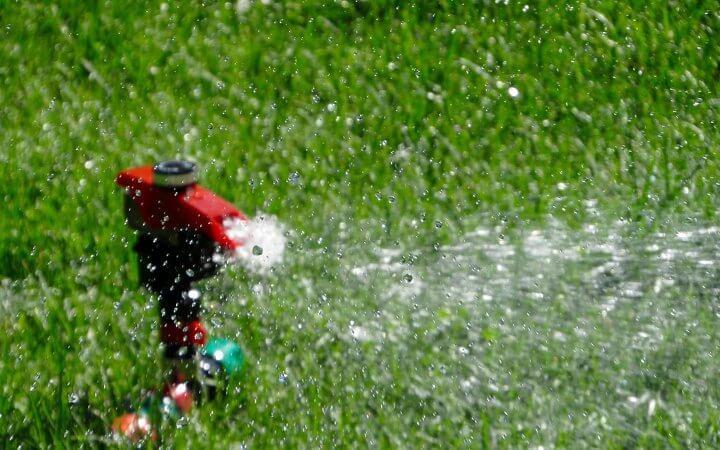 Как се полива градина?